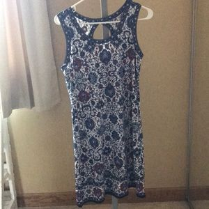 Red white and blue Max studio dress size medium
